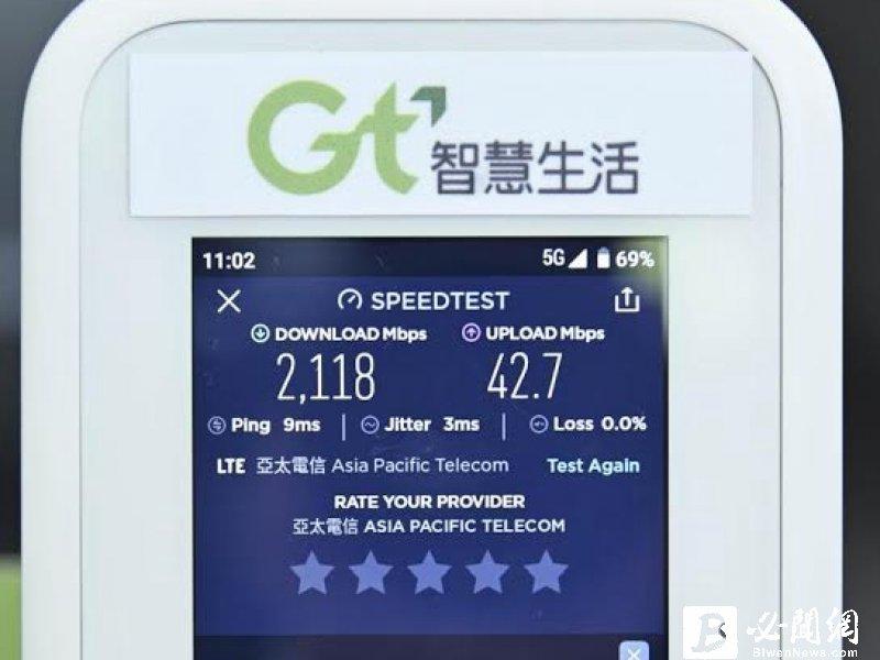 亞太電信呂芳銘:看看別人 台灣需要那麼多的5G網路嗎?(資料照)