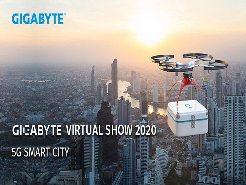 技嘉科技將智慧帶入你我生活《GIGABYTE Virtual Show》展示多元化產品與解決方案。(技嘉提供)