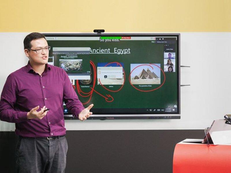 臺大與ViewSonic超前部署數位教師資培訓 共同研發數位教育方案。(廠商提供)