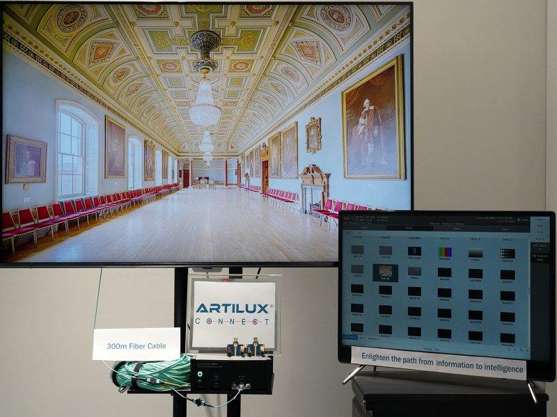 光程研創推出全球第一個可兼容HDMI 2.1的CMOS全光IC解決方案「Connect全光HDMI 2.1系列」。(廠商提供)