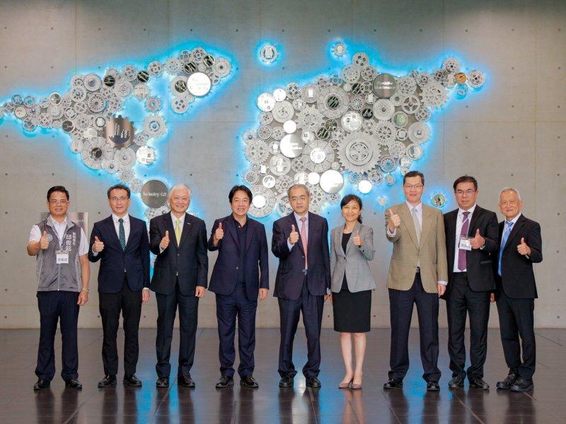 台灣工業物聯網產業發展 研華向政府提兩大建言。(研華提供)