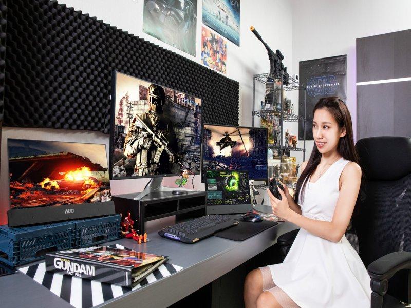 TrendForce:2020上半年電視品牌出貨量未達水準 下半年加強備貨動能應戰。(友達提供)