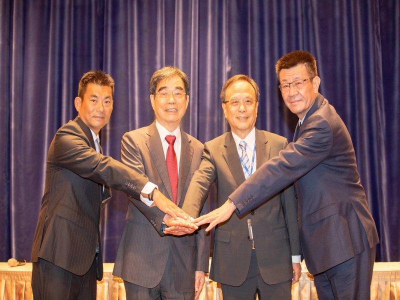 光寶科董總世代交替 宋明峰擔任董事長 邱森彬任總經理。(光寶提供)
