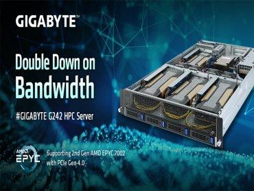 技嘉科技發表新款高速運算伺服器G242-Z11