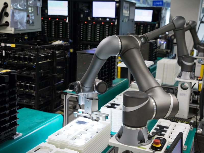 達明機器人打造一條龍自動化導入方案服務。(達明提供)
