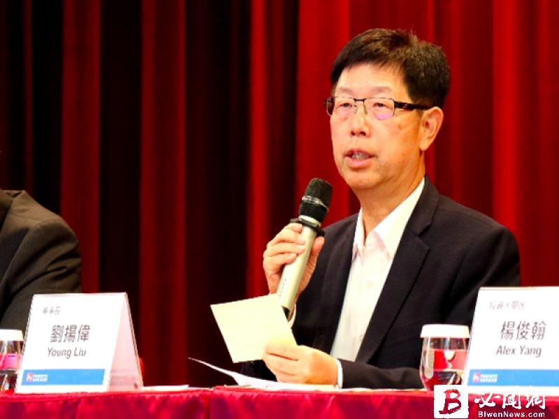 伺服器相關年營收進逼兆元 鴻海劉揚偉:大家不要忘了我們。(資料照)