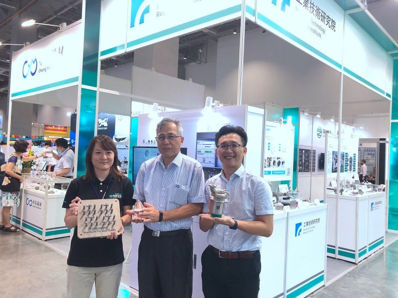 工研院創新3D列印 攜手產業拚智慧製造、精準健康跨域商機。(工研院提供)