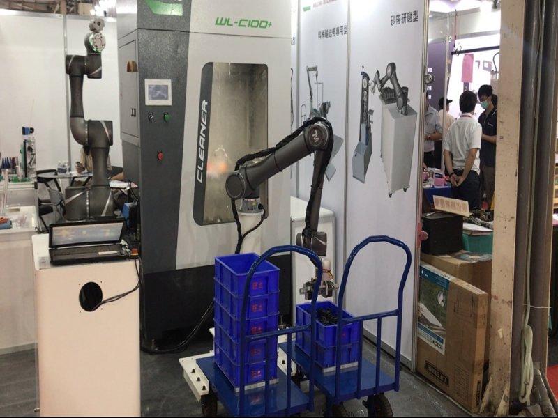達明攜手旺立精機 推出CNC加工機整合協作型機器人的最佳解決方案。(廠商提供)