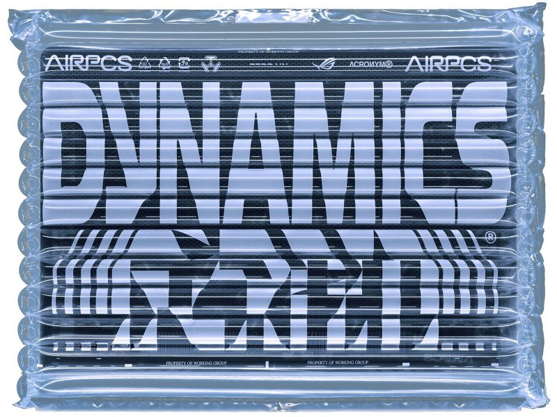 ROG聯名頂尖機能潮牌ACRONYM  跨界推出「ROG Zephyrus G14-ACRNM聯名限定版」。(華碩提供)