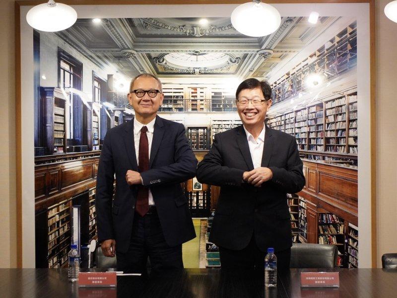 鴻海聯手國巨 強強合作共同投入「3+3」領域 提升雙方價值倍數成長。(鴻海提供)