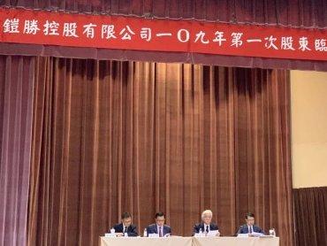 和碩子公司鎧勝-KY股臨會通過合併下市案 合併基準日暫訂為2021年2月26日