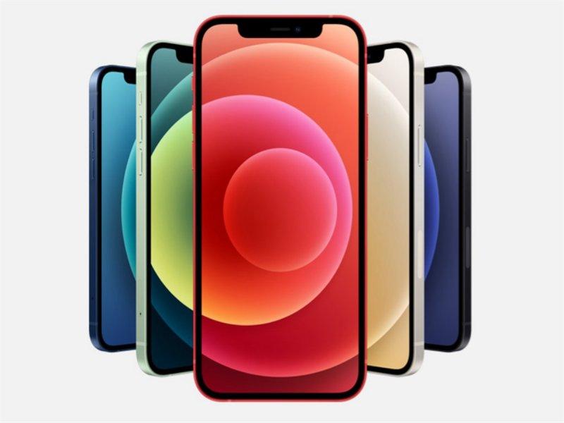 蘋果5G版iPhone登場 4款新機降價搶市。(摘自蘋果官網)