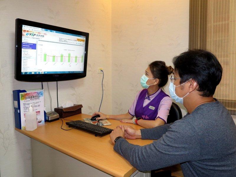 秀傳醫院導入ASUS VivoWatch 強化高級健檢 預防醫學結合健康錶即時掌控健康資訊。(華碩提供)