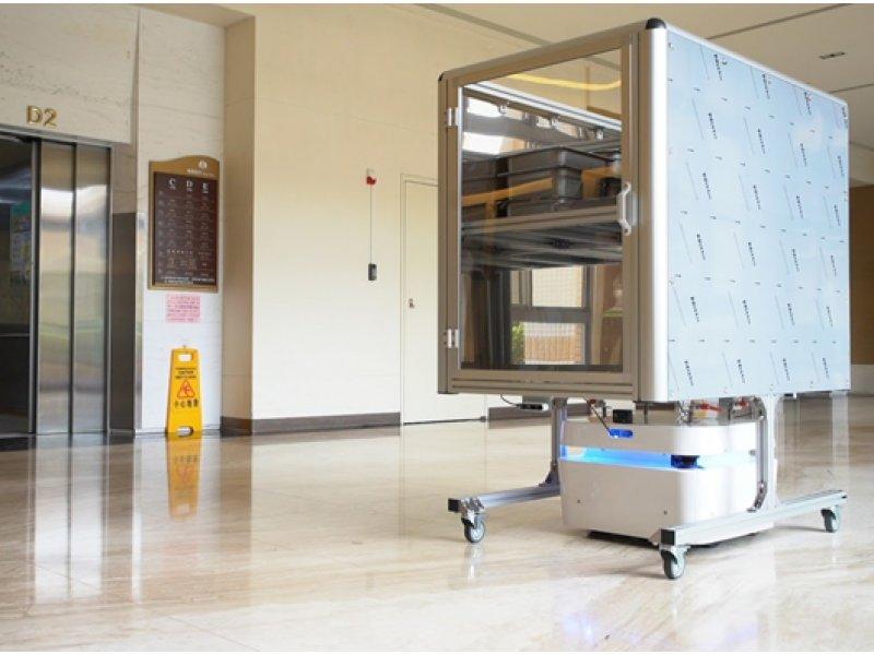 智慧長照再添生力軍 MSI微星科技全台首支無人車隊成形 。(微星提供)