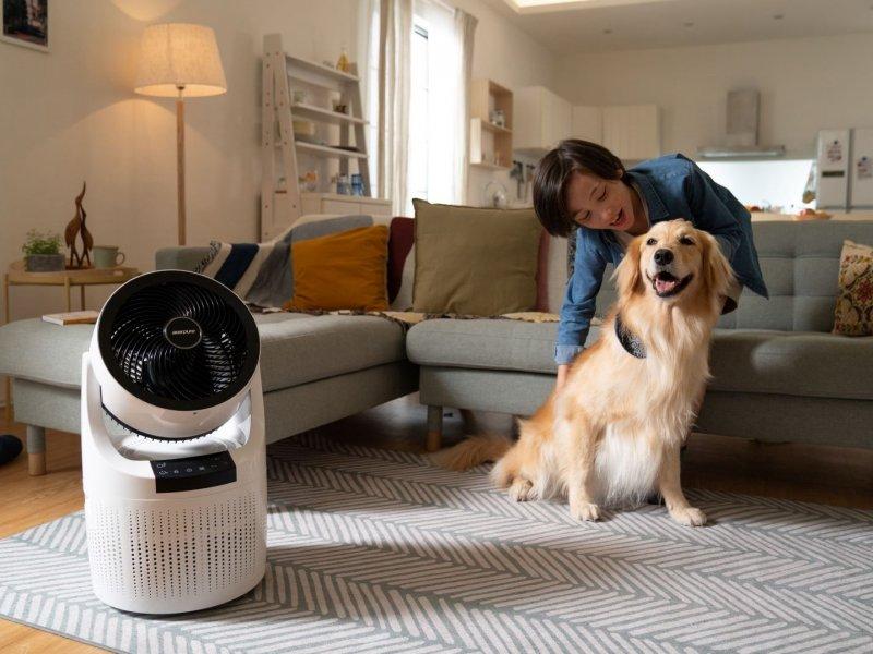 宏碁子公司宏碁智新空氣循環清淨機上市 搶攻空氣清淨商機。(廠商提供)