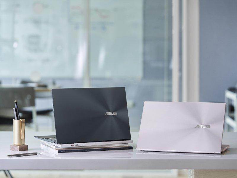 華碩推出第11代Intel 處理器筆電 獨家智慧技術 效能勁揚40%。(華碩提供)