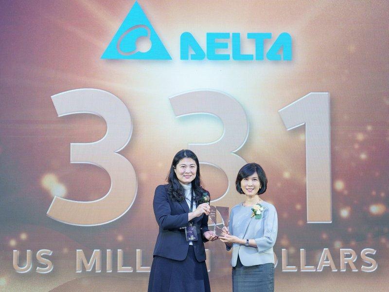 台達連續十年入選台灣最佳國際品牌 品牌價值連續八年成長。(台達提供)