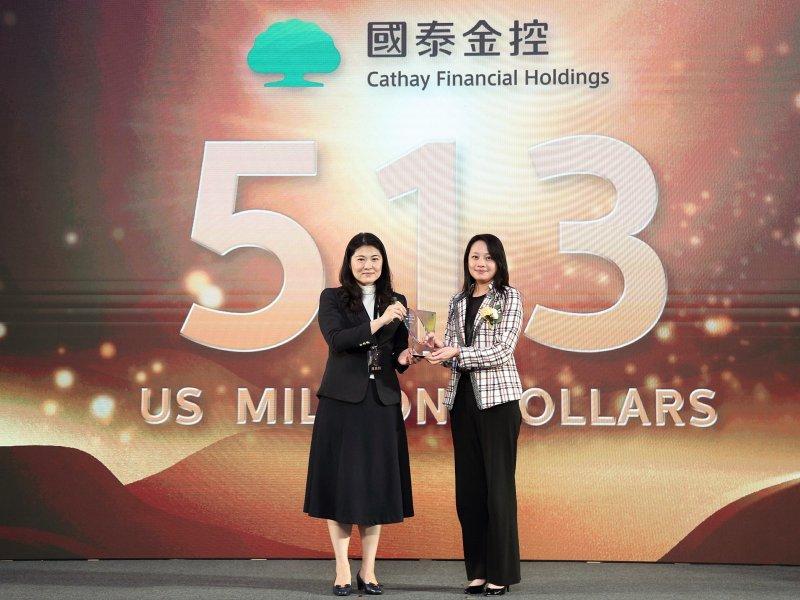 國泰金控連續四度入選台灣最佳國際品牌。(廠商提供)