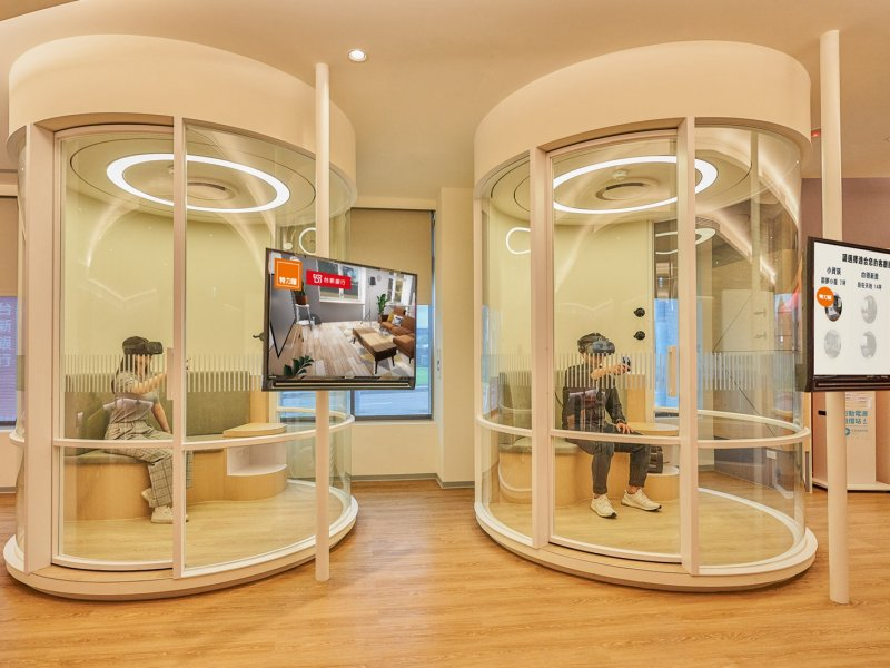 台新銀行特力集團雙強聯手 打造虛擬商城VR居家館。(廠商提供)