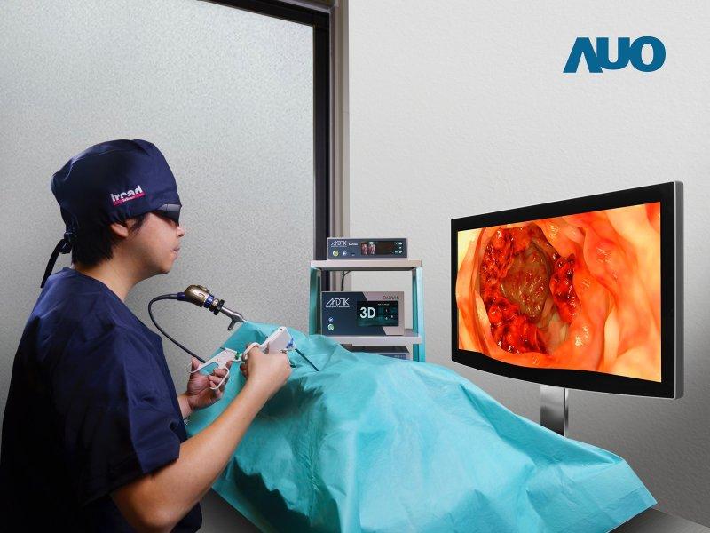 友達推高階手術用顯示器解決方案 驅動醫療智慧轉型。(友達提供)