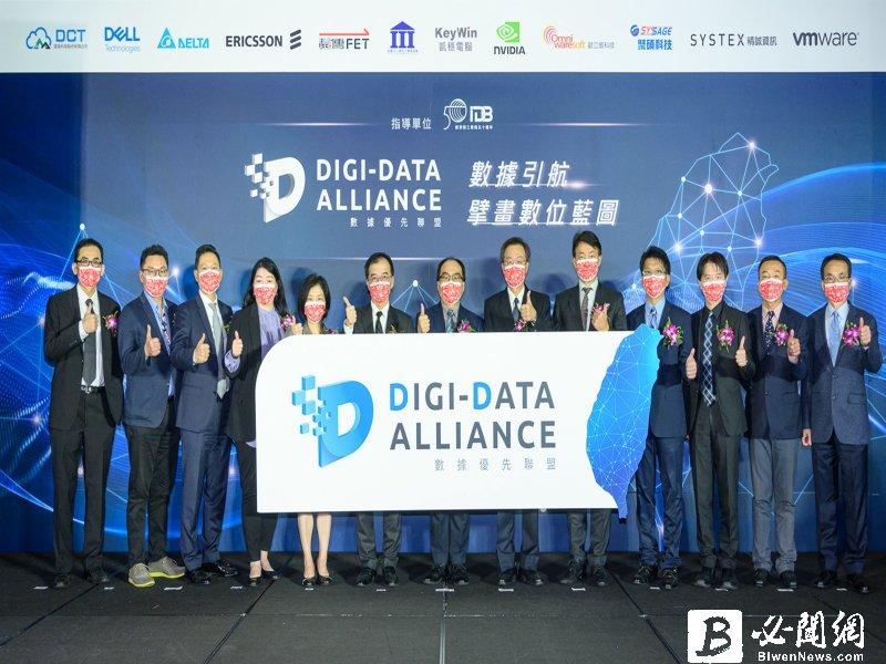 資策會攜DELL等國際大廠發布數據優先聯盟 打造台灣數位轉型生態系。(資料照)