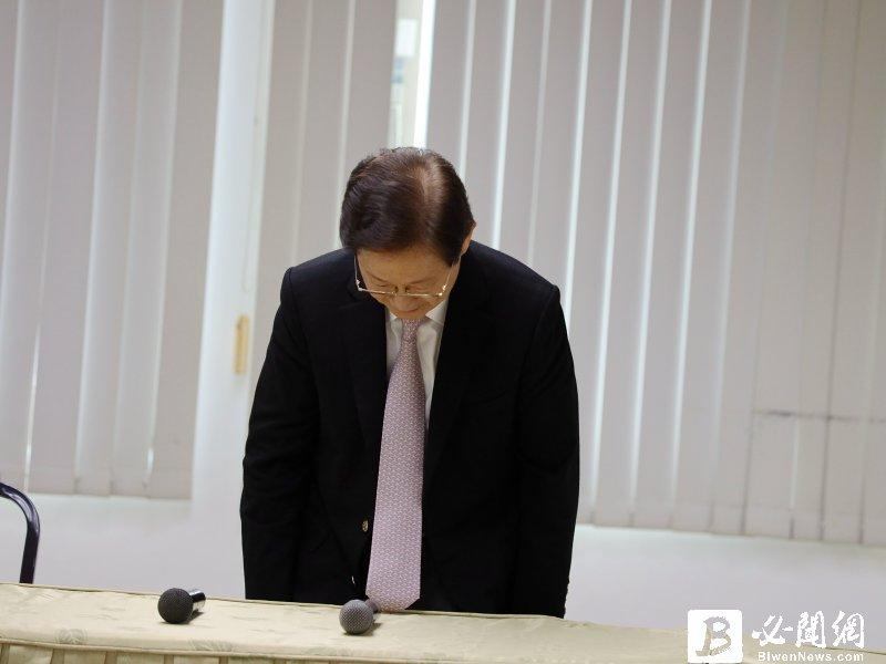 僅任職50天!大同董事長林文淵宣布今天是最後一天 傳將由中美晶董事長盧明光接任。(資料照)