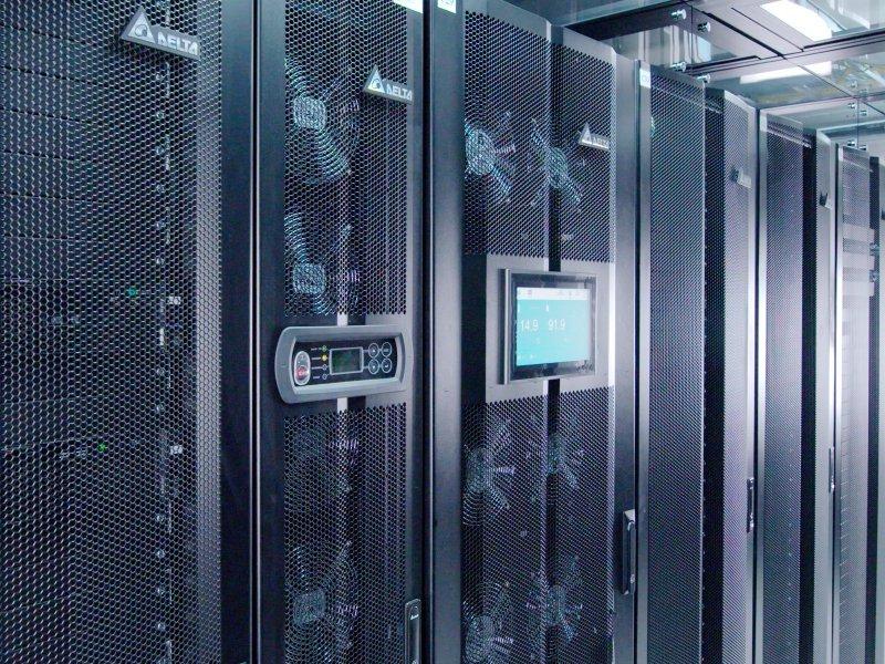 台達模組化資料中心解決方案獲台塑集團採用 每年預估可減少高達30%的用電量。(台達提供)