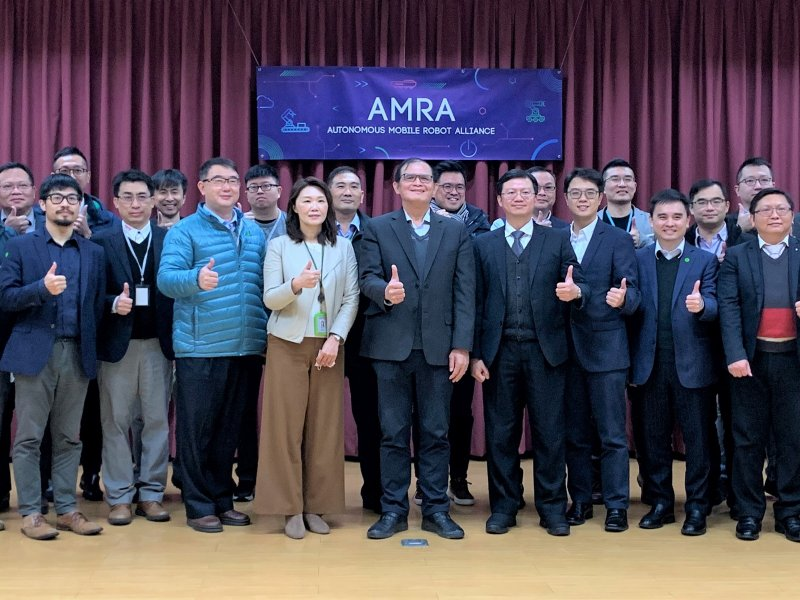AMR業者與工研院攜手成立「自主移動機器人聯盟」 啟動移動機器人產業新未來。(工研院提供)