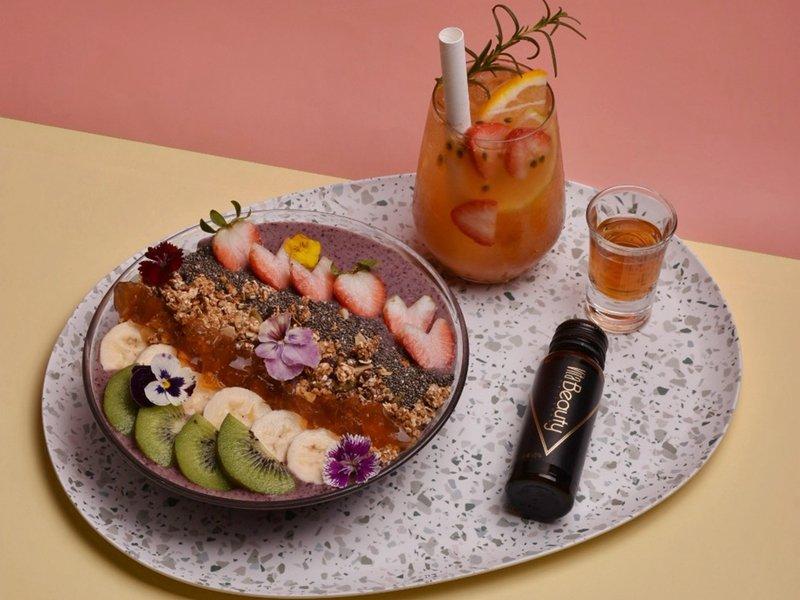 跨界合作! 宏碁聯名人氣餐廳推VitaBeauty膠原蛋白套餐。(宏碁提供)