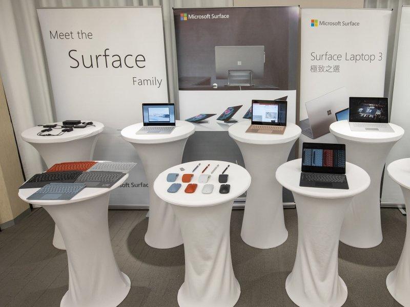 微軟 Surface Hub 2S 在台正式上市。(廠商提供)