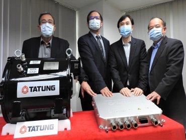 台灣第一套國產電動巴士動力系統 大同測試認證成功