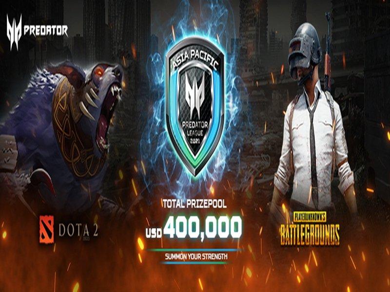 宏碁2020/21亞太區Predator 電競聯盟大賽 總決賽4月正式開打。(宏碁提供)