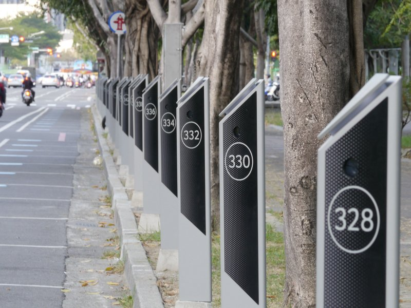 宏碁智通「智慧路邊停車計時收費系統」 再奪臺南市智慧路邊停車案。(宏碁提供)