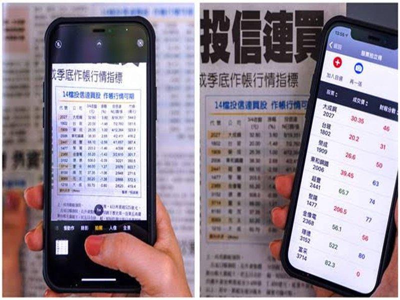 日盛證券「股票拍立得」新功能上線。(日盛提供)