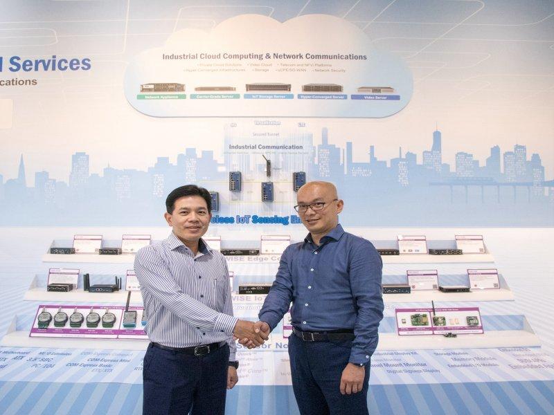 研華與自由系統結盟 以IoT CSP加速工業物聯網生態體系發展。(研華提供)