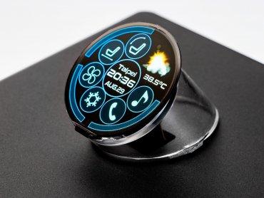 友達ALED系列顯屏驚豔首發 全球最高像素密度正圓形Micro LED顯示器首度亮相