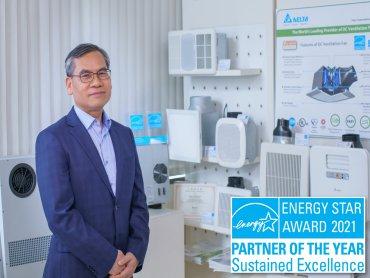 台達連續六年獲頒能源之星年度夥伴、連續四年榮獲美國能源之星傑出永續獎