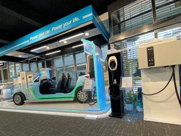 台達電動車充電樁進駐北基國際全台57座加油站