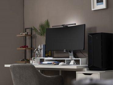BenQ螢幕智能掛燈ScreenBar Halo新品上市 前後補光、自動調光、護眼不疲勞