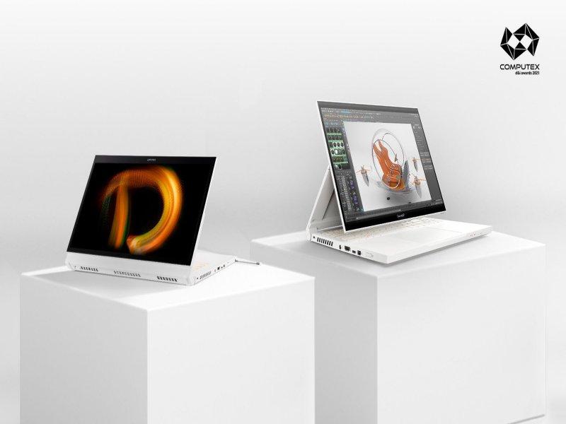 宏碁多項產品獲台北國際電腦展創新設計獎。(宏碁提供)