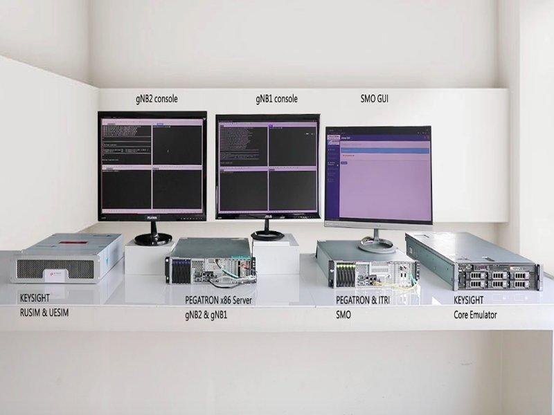 臺灣首套5G O-RAN基站網管系統 工研院攜手和碩聯合科技、是得科技MWC線上嶄露鋒芒。(工研院提供)