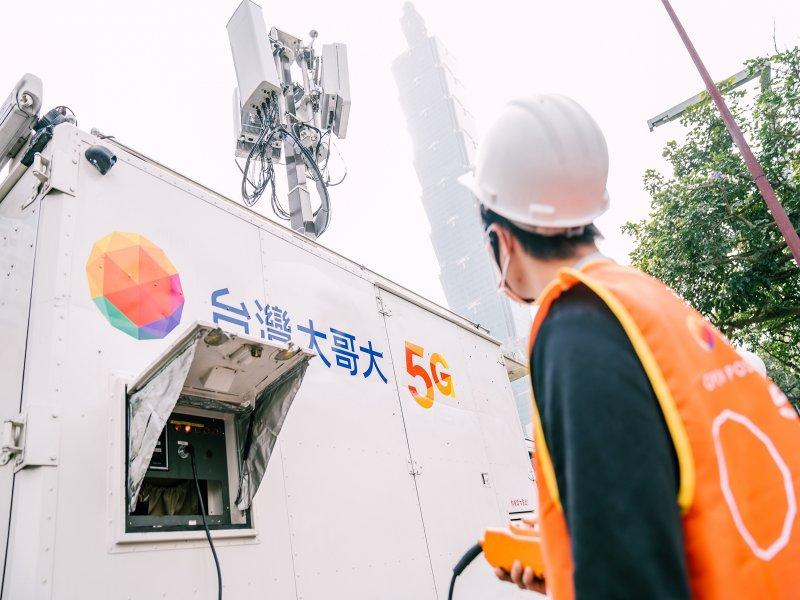 5G開台將滿周年 台灣大哥大用戶突破80萬 滲透率達14%。(廠商提供)