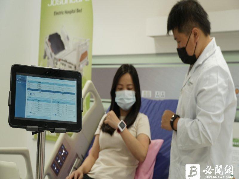 工研院攜手新竹臺大分院及資通、醫材業者建置「生理訊號即時監測整合平台」以科技守護生命。(工研院提供)