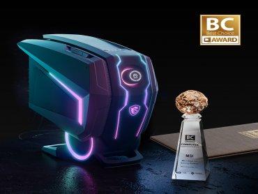 MSI微星科技電競旗艦桌機MEG Aegis Ti5榮獲COMPUTEX 2021 Best Choice年度最佳產品大獎