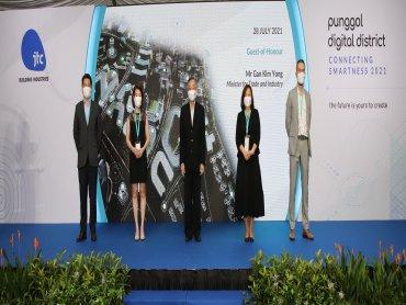台達協助JTC建構新加坡「榜鵝數碼園區」展示貨櫃型植物工場與樓宇自動化解決方案 打造智慧生活