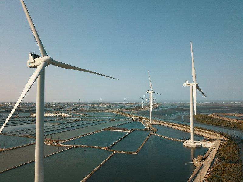 台達與台汽電綠能簽訂長期綠色購電協議 向RE100目標邁進。(台達提供)