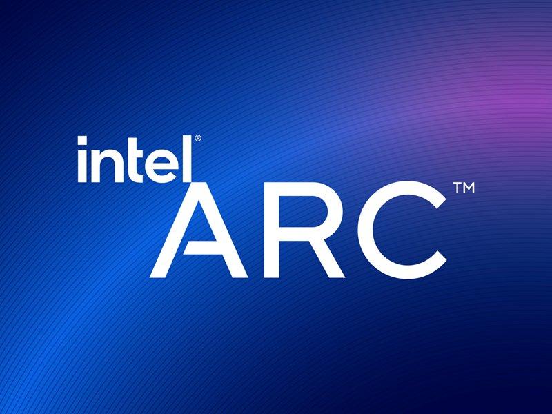 英特爾宣布全新高效能圖形品牌Intel Arc  產品線首款晶片將於2022第一季現身。(廠商提供)