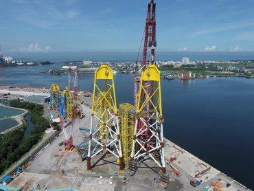 中鋼旗下興達海基攜手國內供應鏈 奠立離岸風電水下基礎國產化里程碑