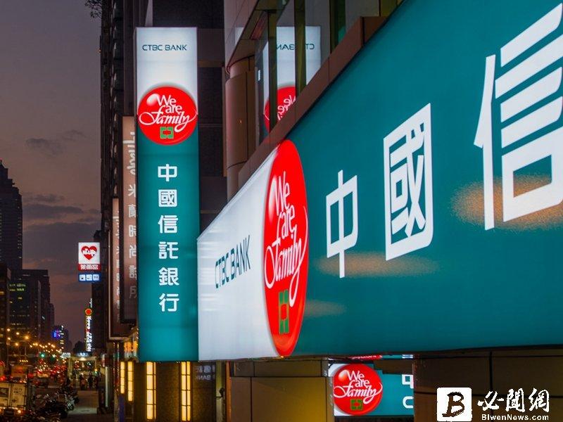 中國信託商業銀行發行首批結構型國際債券。(資料照)