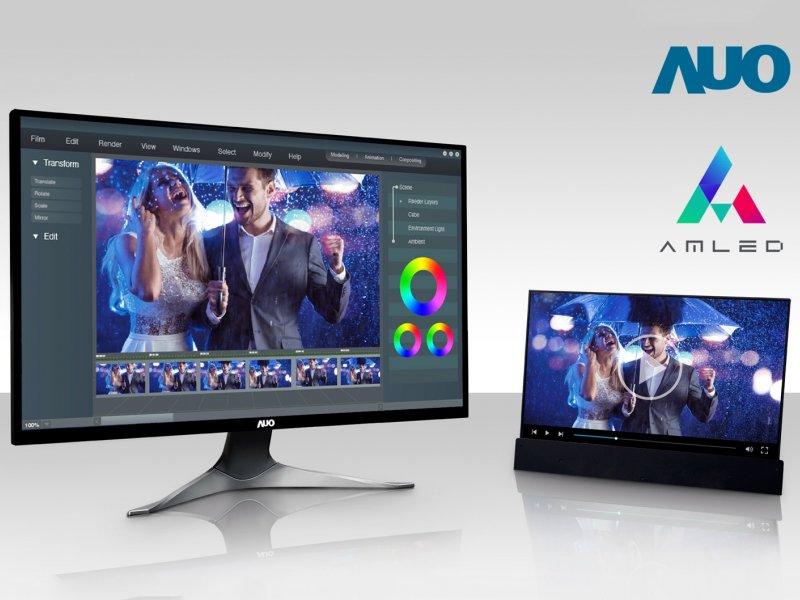 友達攜手微星 AmLED先進技術導入Creator Z16旗艦款創作者筆電。(友達提供)